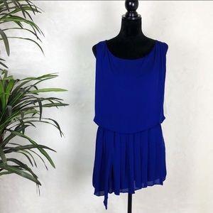 Alice + Oliva mini dress in blue